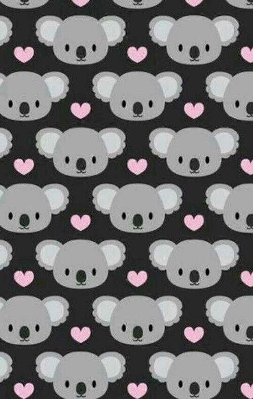 Imagen De Wallpaper Koala And Background Iphone Wallpaper Cute Wallpapers Kawaii Wallpaper