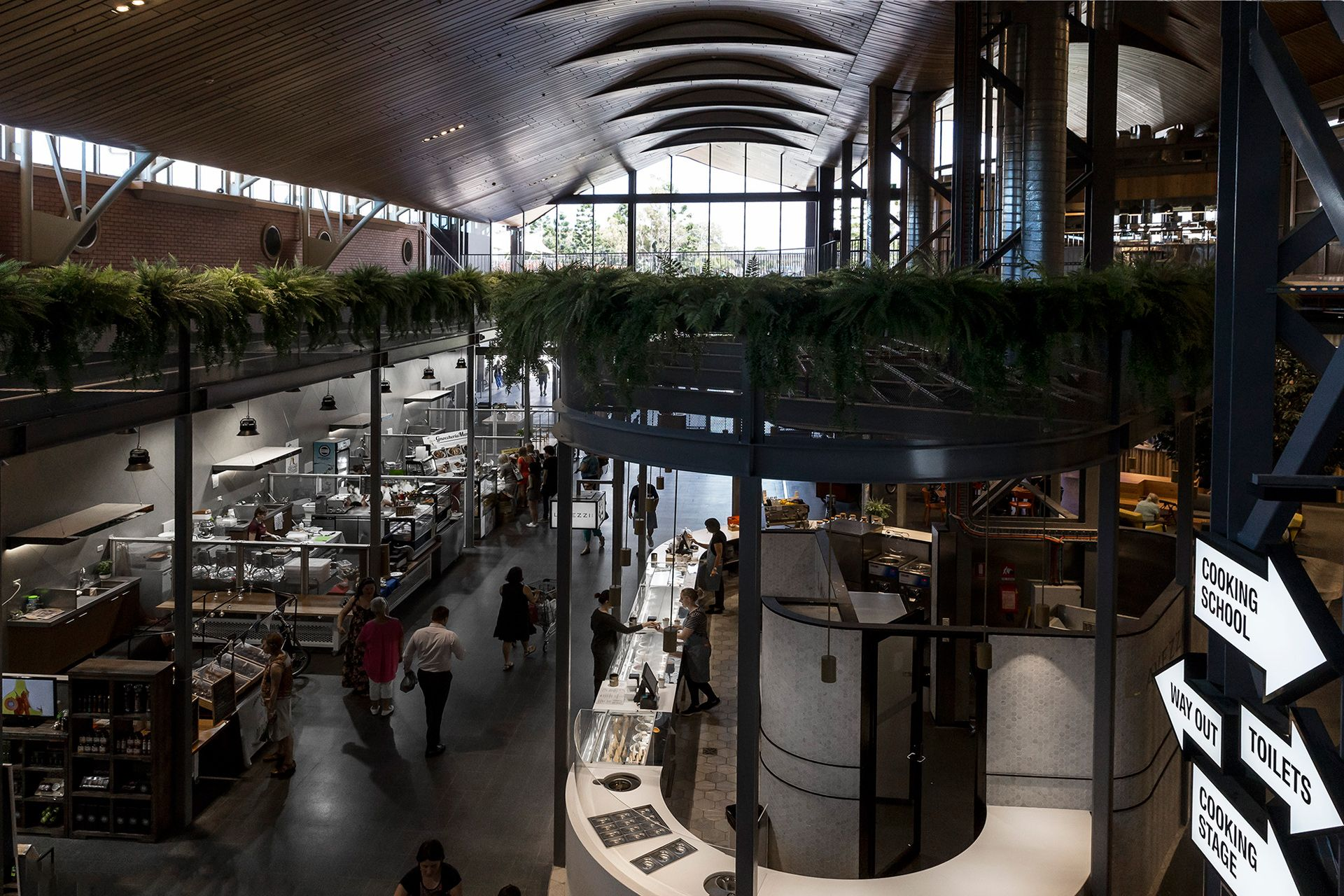 The Kitchens by Landini Associates makes food shopping a human ...
