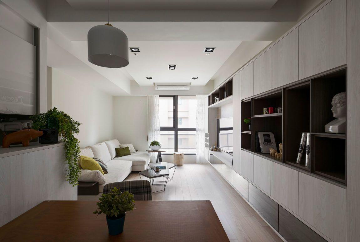 Apartment In Taipei City Taiwan Designed By Studio De Alfonso Ideas Apartment Design Living Room Inspiration Interior Design