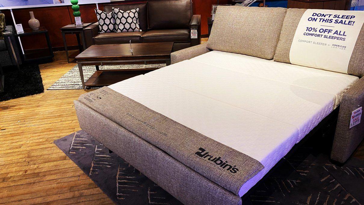 American Leather Comfort Sleeper Sale At Rubin S Furniture In 2020 Comfort Sleeper American Leather Comfort Sleeper American Leather