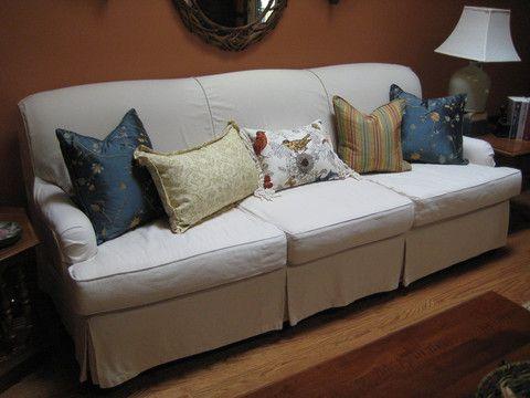 DesignFolly U2014 How To Pre Shrink Slipcover Fabric