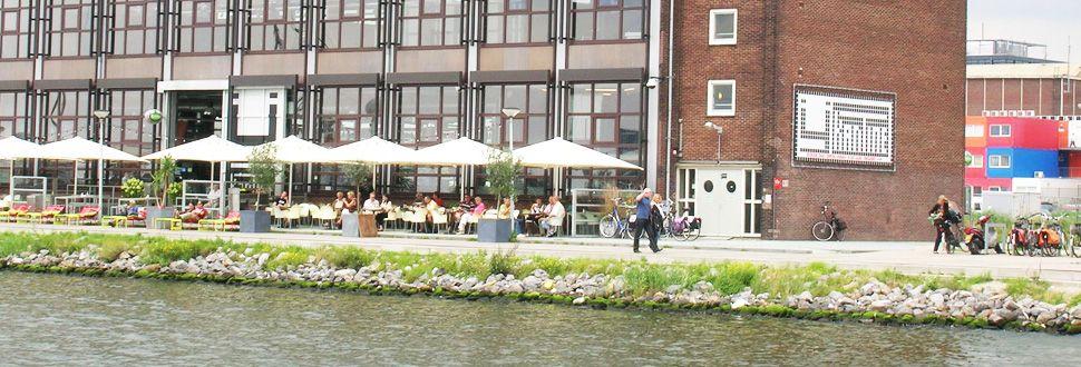 Amsterdam Noord; Ij Kantine; Kindvriendelijk restaurant cafe met terras aan het water