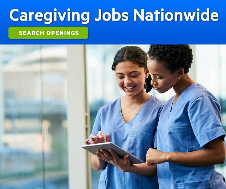 Caregivers are needed for facility and home healthcare