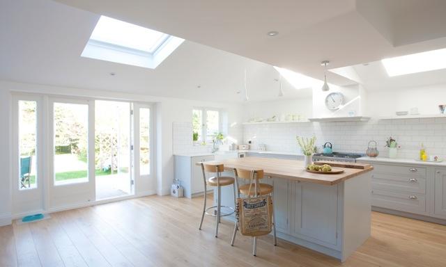 Single Storey Wrap Around Extension Kingston Thamesbuild Kitchen Interior Home Kitchens Kitchen Extension