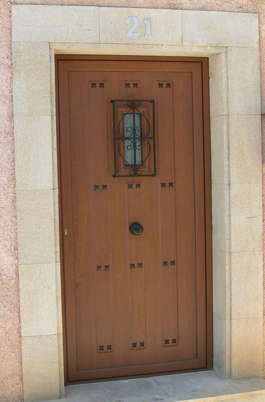 Anusa Proyectos Puertas Entrada Puerta De Entrada R Stica  ~ Puertas De Entrada De Aluminio Rusticas
