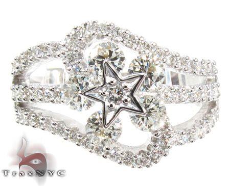 Star diamond ring