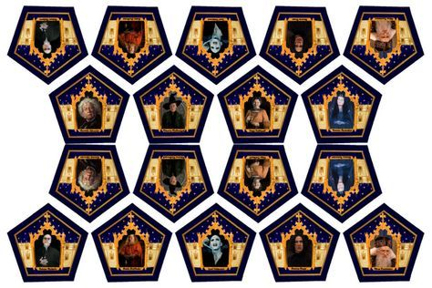 Amazing Hp Blog Has Great Chocolate Frog Cards And Template And Also Has Other Book Movie Bas Harry Potter Halloween Harry Potter Filmleri Harry Potter Sanati