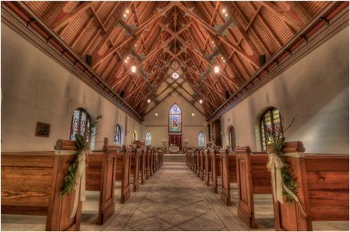 St Luke S Chapel Charleston Sc Blended Family Wedding Chapel Wedding Chapel