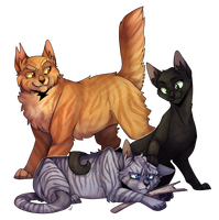 Lionblaze Hollyleaf And Jayfeather You Know What I Just