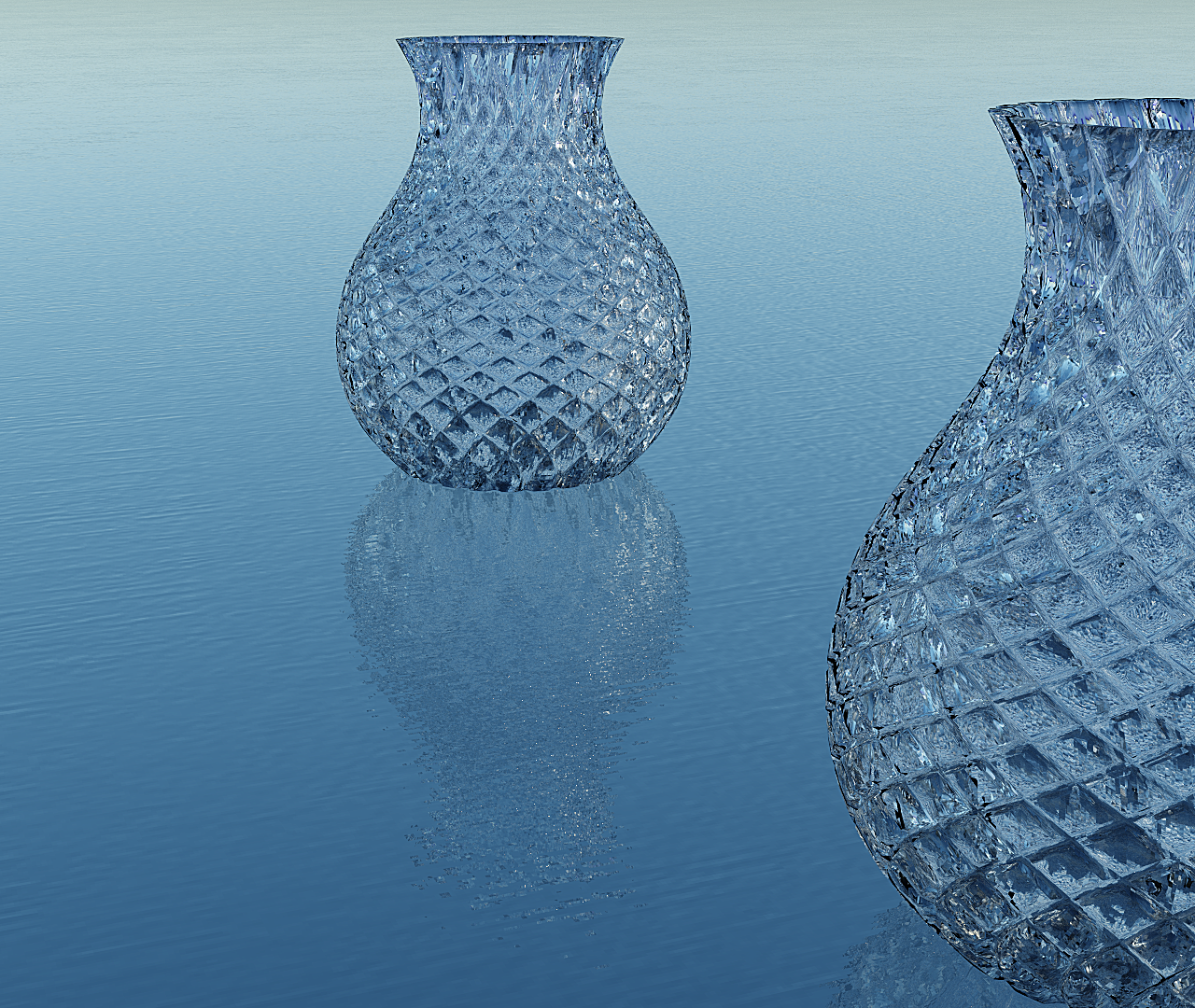 jug pattern - rendered in Simlab