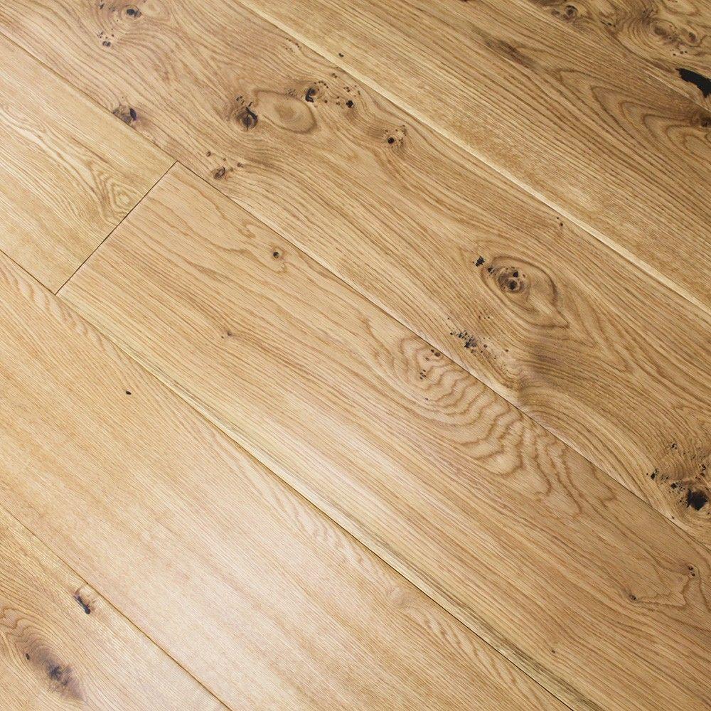 Golden Hand Carved Vintage Matt Lacquered Oak Engineered Wood Oak Carving