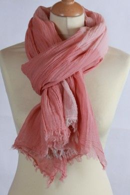 Grand chèche rose 100 % coton à carreaux   Chèche Femme   Pinterest ... 3510ec2ae8d