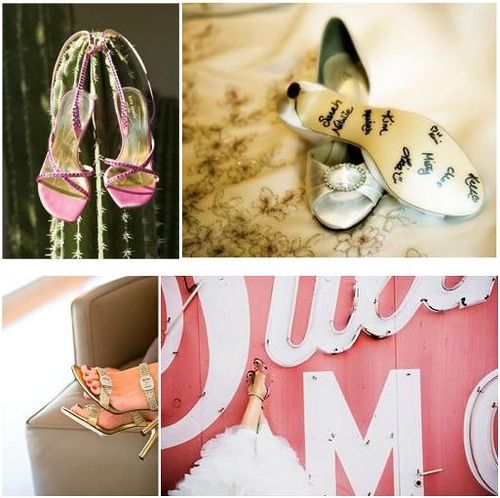 Really enjoy the eye-catching special day shoes.  See more at, http://www.photographyinstyle.com