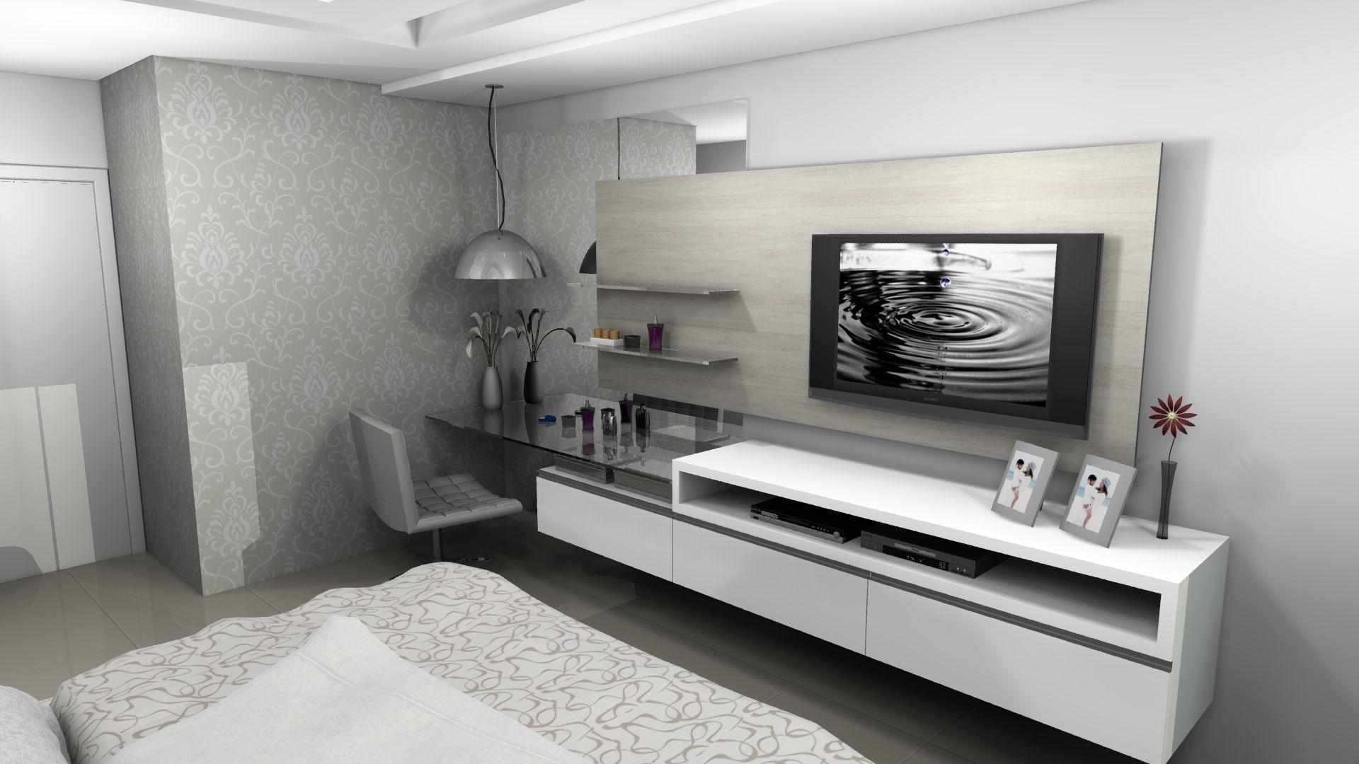 Dormitorio Galeria De Projetos Promob Quarto Casal Pinterest  ~ Decoração Em Quarto De Casal E Fazer Projeto De Quarto
