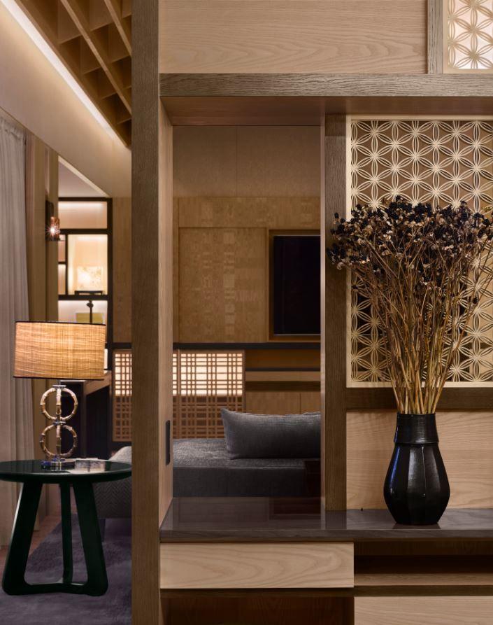 Presidential Suite Of The Four Seasons Kyoto By HBA Design. Islamic Decor Hotel GuestInterior LightingThe FourFour SeasonsKyotoHospitalityGuest Room Asia
