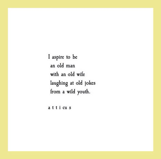 """Old Love Quotes: Just """"Atticus"""""""