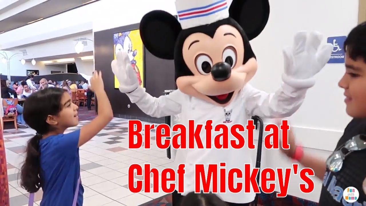 Chef Mickey's Disney character breakfast at Disney's Contemporary Resort...  | Disney trip planning, Disney character breakfast, Disney fun