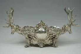 Image Result For Antique Silver Table Centerpieces