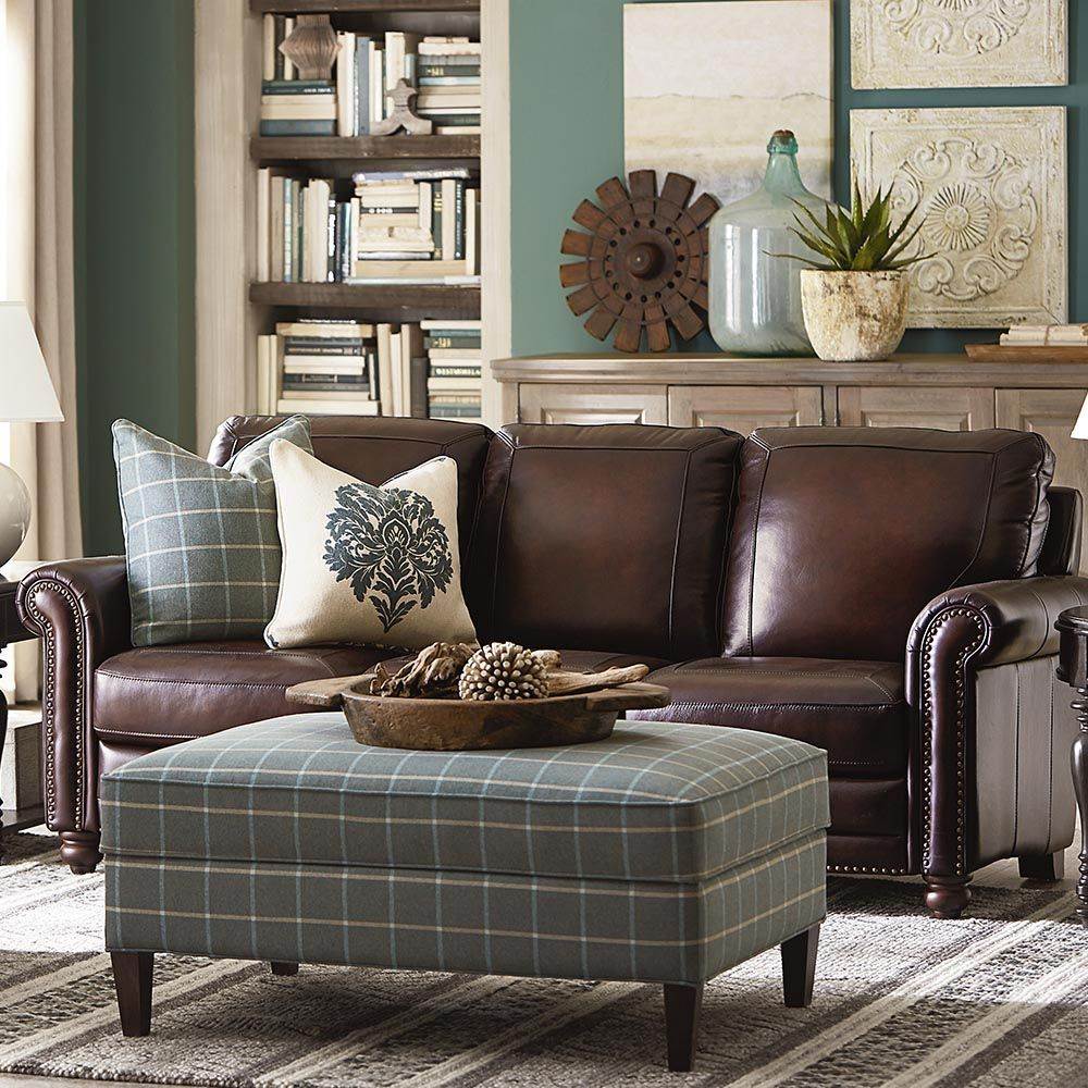 Pin By Jbigler On New Home Furniture Living Room Leather Brown