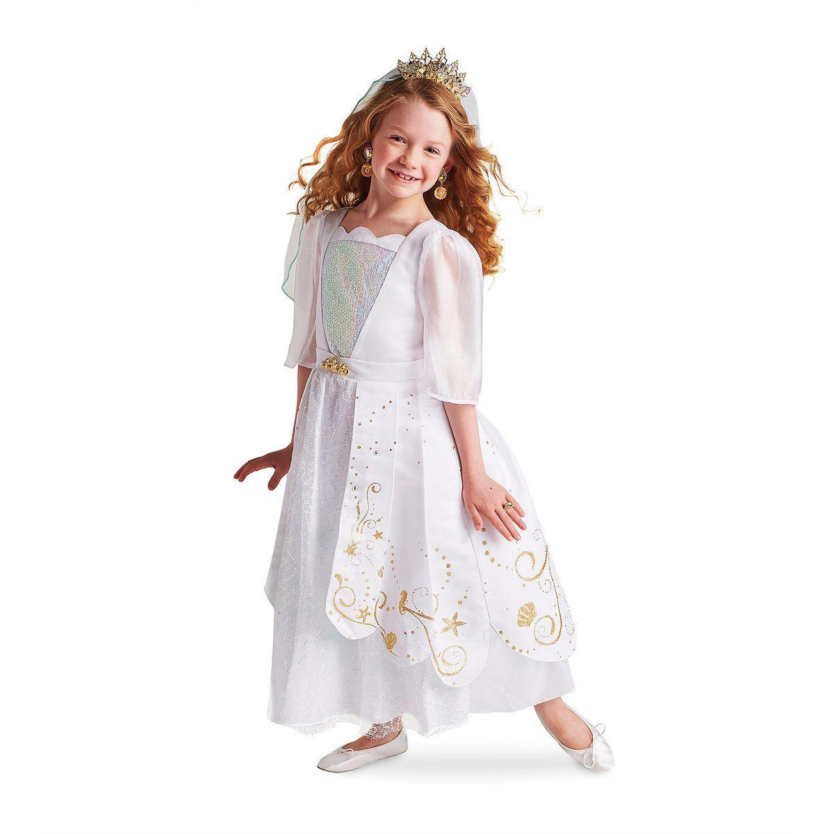 Ariel designer wedding gown costume for kids wedding
