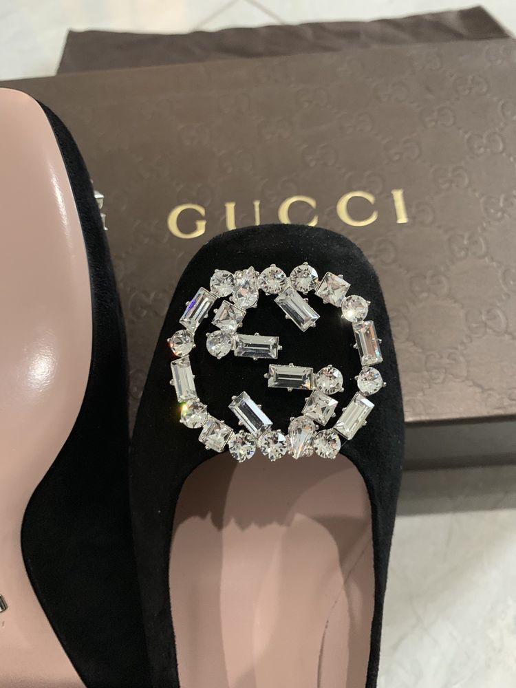 Gucci shoes women Swarovski Crystal