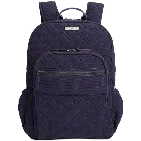 8ec50afd73 Vera Bradley Campus Backpack ( 138) ❤ liked on Polyvore featuring bags
