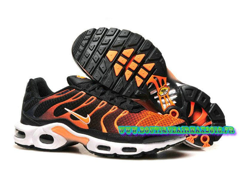 nike air max tn black and orange