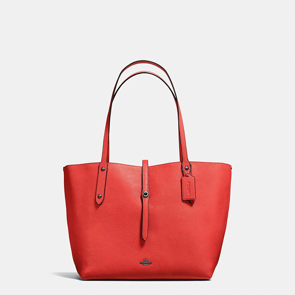 5e41928276 Shop The COACH Market Tote In Printed Pebble Leather. Enjoy Complimentary  Shipping   Returns!