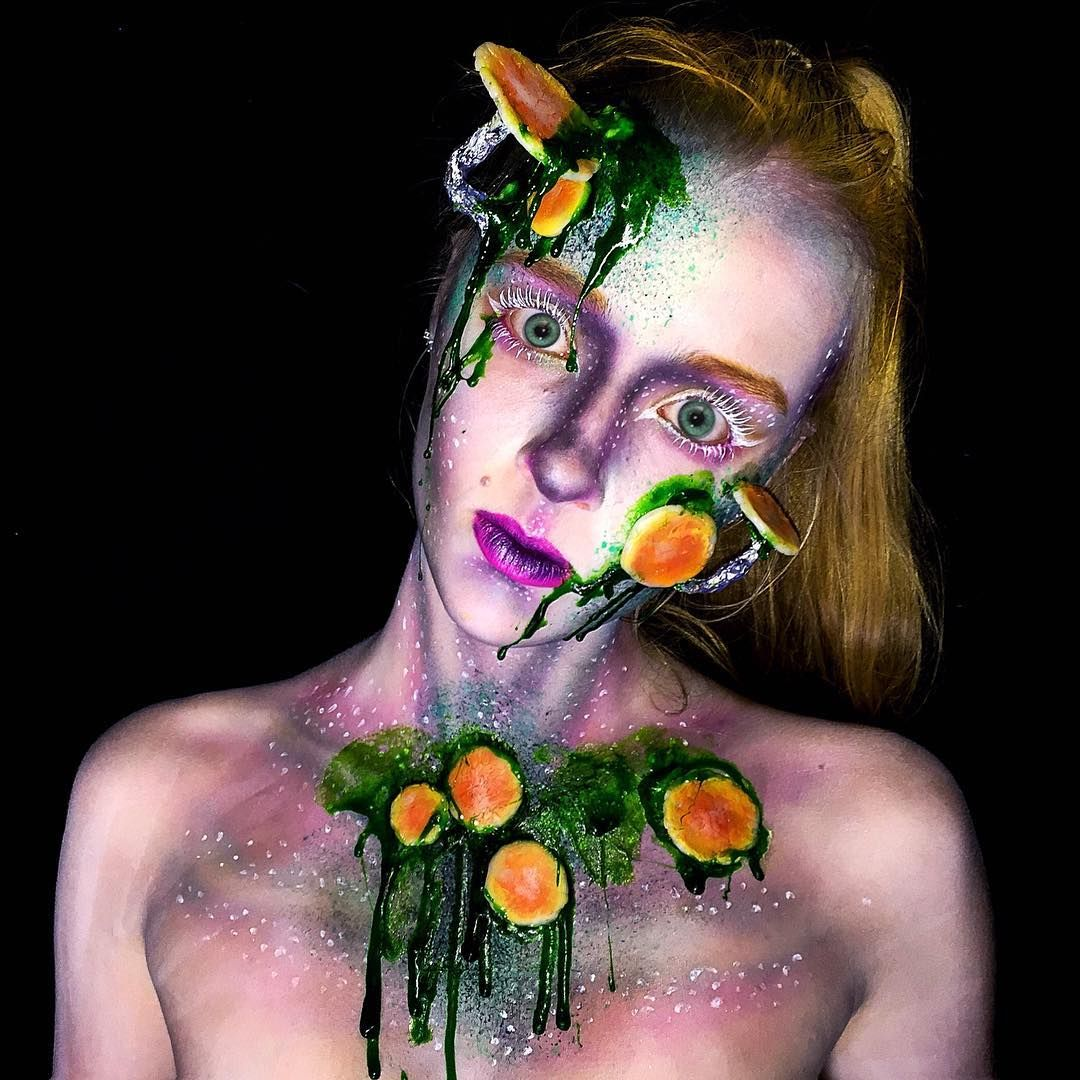 Pin by Nina ♡ on Lara Wirth Special effects makeup