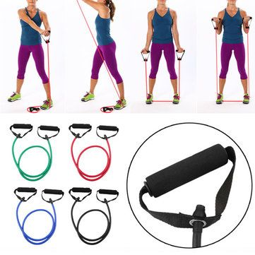sports equipment at home dumbbells resistance bands yoga