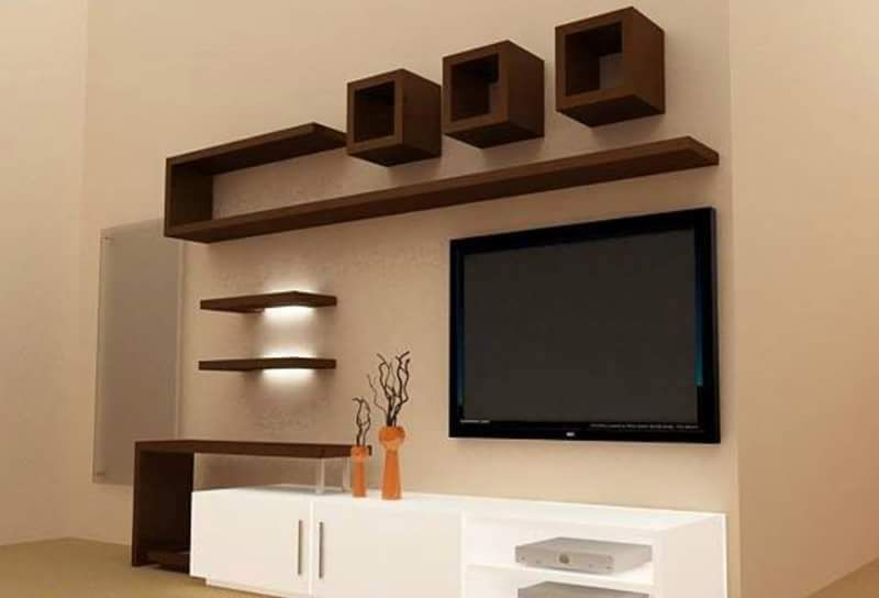 Gypsum Bourd Tv Units In Action Tv Unit Furniture Tv Unit Furniture Design Living Room Tv Unit Designs