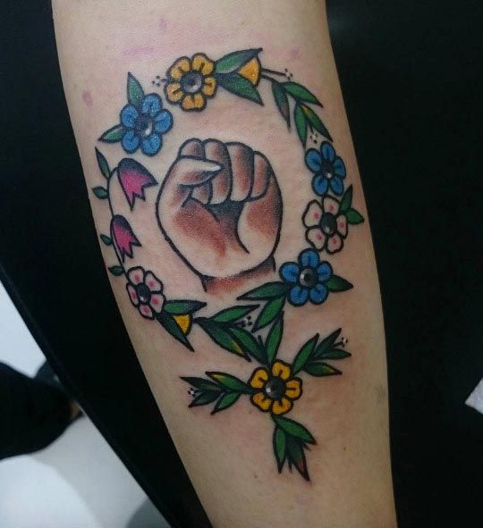 25 Badass Feminist Tattoos To Remind You The Girl Power Feminist