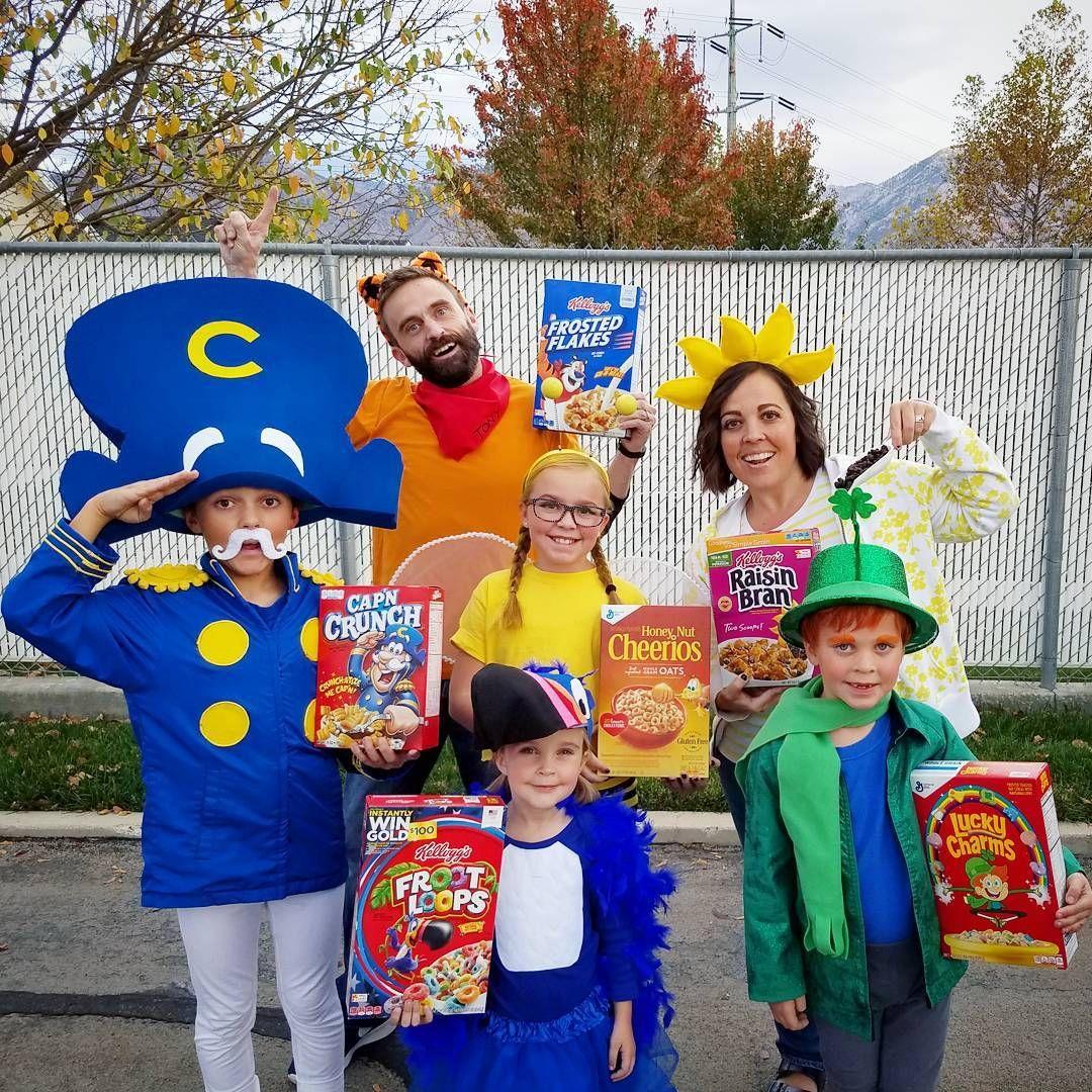 Cereal costumes halloween school box costumes kids