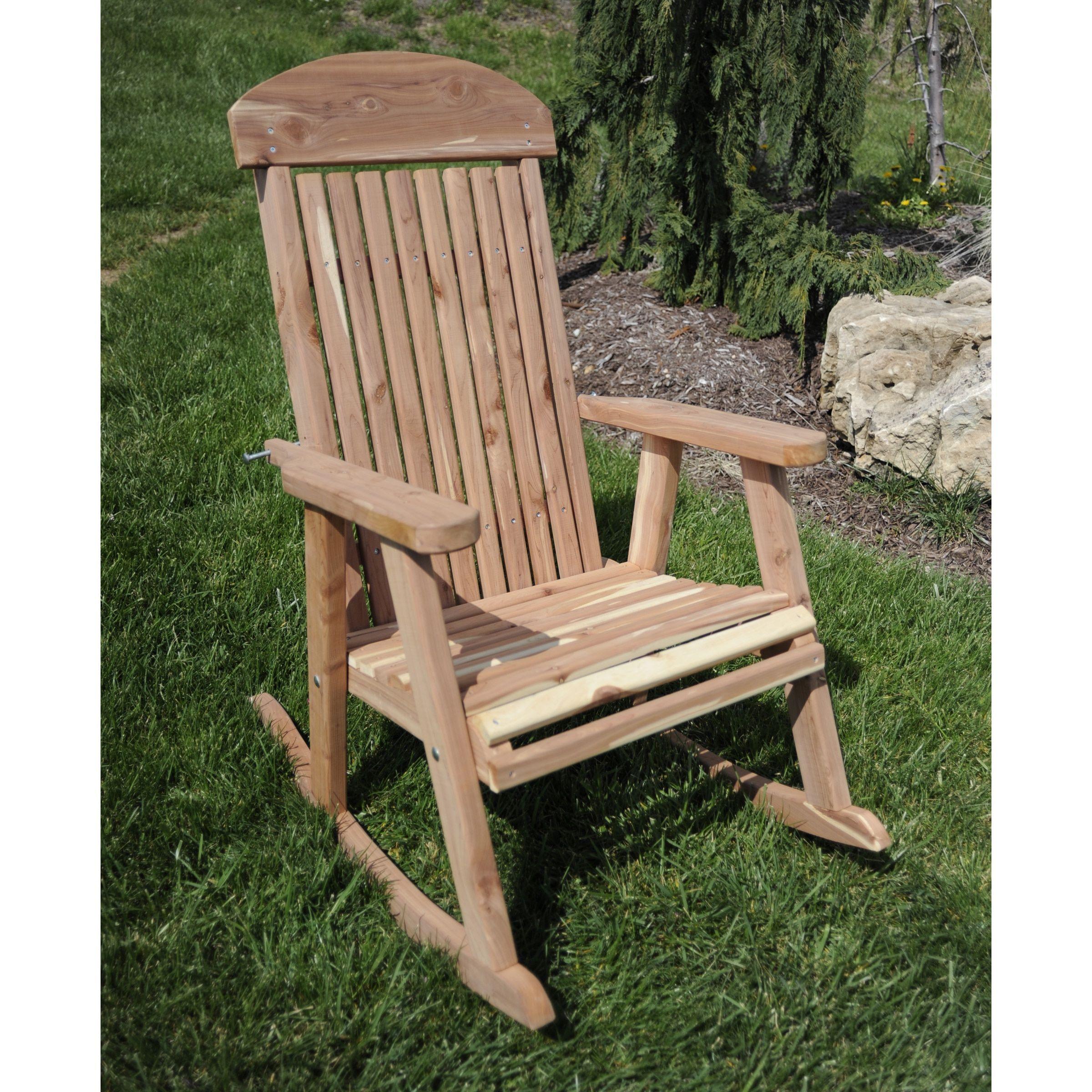 Amerihome amish made rocking chair patio furniture rocking