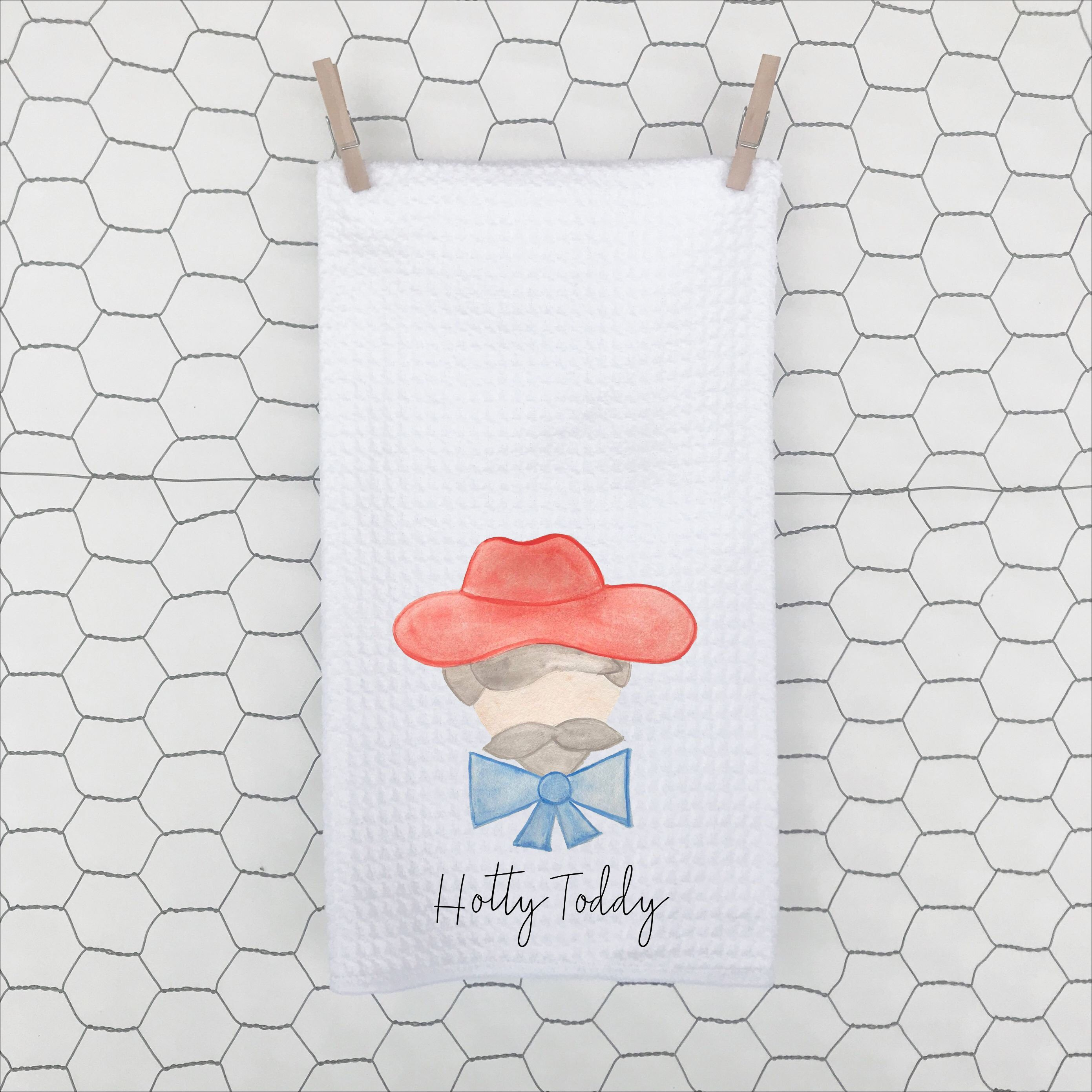 b1d05d70da3 Excited to share this item from my  etsy shop  Hotty Toddy dish towel-  custom dish towel - wedding gift- housewarming gift- football- tailgating-  the grove- ...