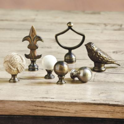 Designer Lamp Finial I Love These For Making An Arrangement Or Putting On On Top On Top Of A Stack Of Books With Lamp Finial Lamp Shade Finials Lamp Design