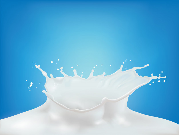 Milk Crown Splash Splashing In Milk Pool With Ripples Milk Splash Splash Ripple