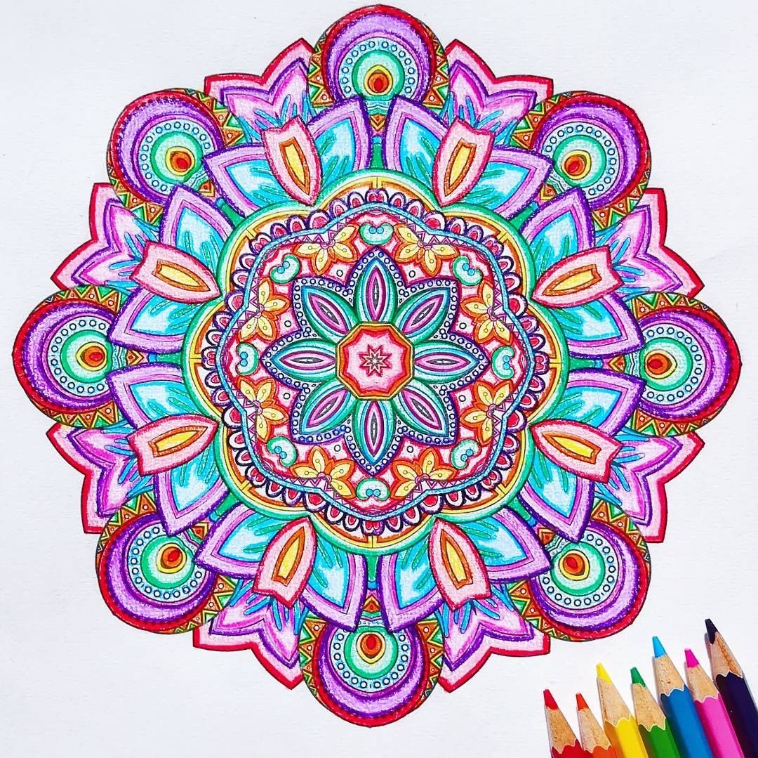 Circle Coloring Page Instagram Designs Collections