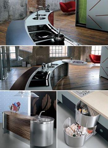 Flashback: La Cucina Alessi | Interiors / Kitchens | Pinterest ...