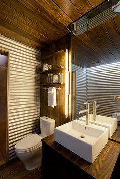 Corrugated Metal Bathroom Walls. 1000 Ideas About Corrugated Metal Walls On Pinterest Corrugated