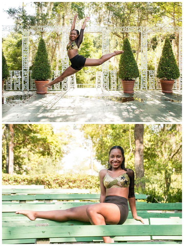 2016 Senior Portrait Kayla Lee Designs Orlando Photographer Outdoor, Mead  Botanical Garden, Dancer,