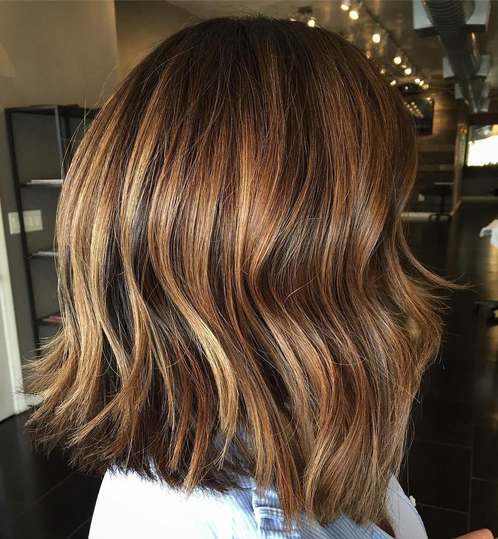 sensational medium length haircuts for thick hair shoulder