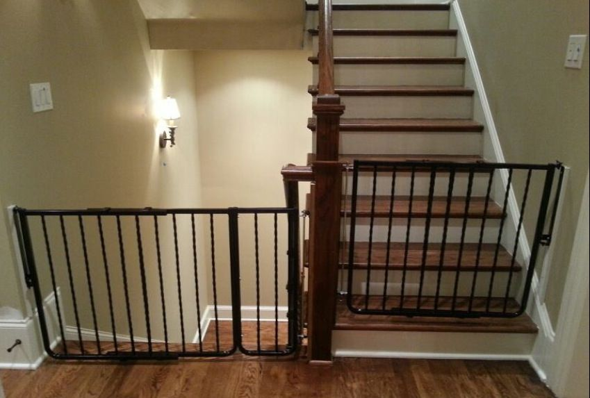 Sketch Of Good Child Safety Gates For Stairs