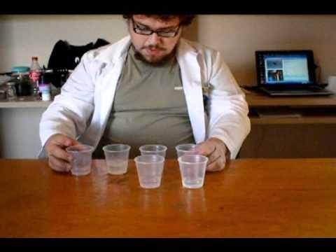 Experiência de Transformar Água em Vinho
