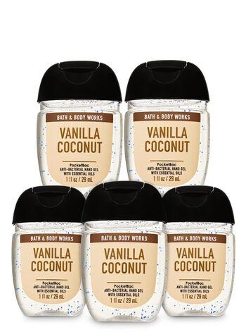 Vanilla Coconut Hand Sanitizer : vanilla, coconut, sanitizer, Vanilla, Coconut, PocketBac, Sanitizer,, 5-Pack, Coconut,, Works,