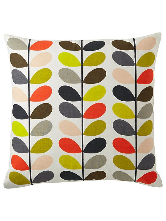 Orla Kiely Linear Stem Cushion Multi