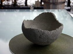 bastelanleitung für betonschale - basteln und dekorieren | deko, Gartenarbeit ideen
