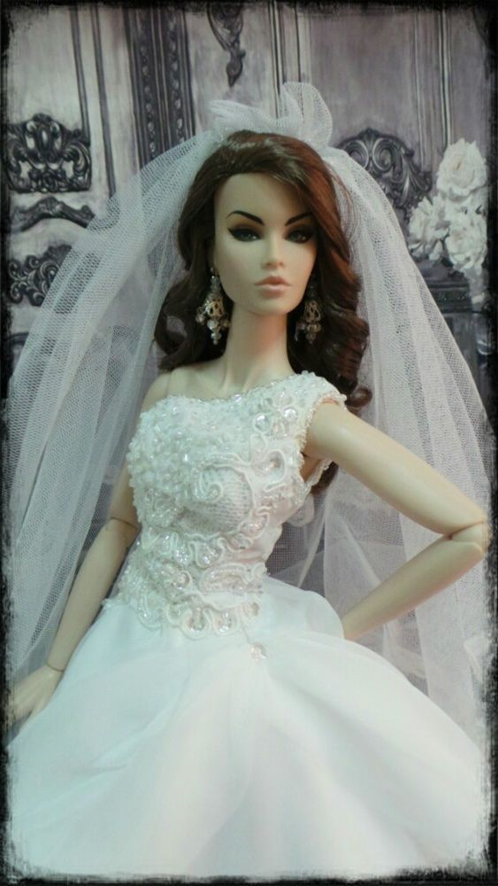 PKPP-424 Tyler Tonner FR16 Princess Wedding Gown dress outfit dolls ...