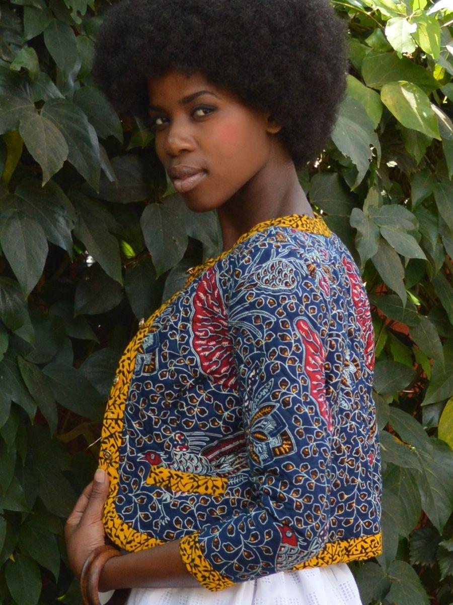 Clara Jacket kitenge africa dress africanfashion