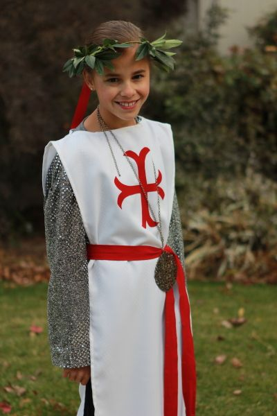 Playing In The Past Idea Joan Of Arc Costume Girl Scouts Joan